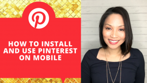 How to use the Pinterest App