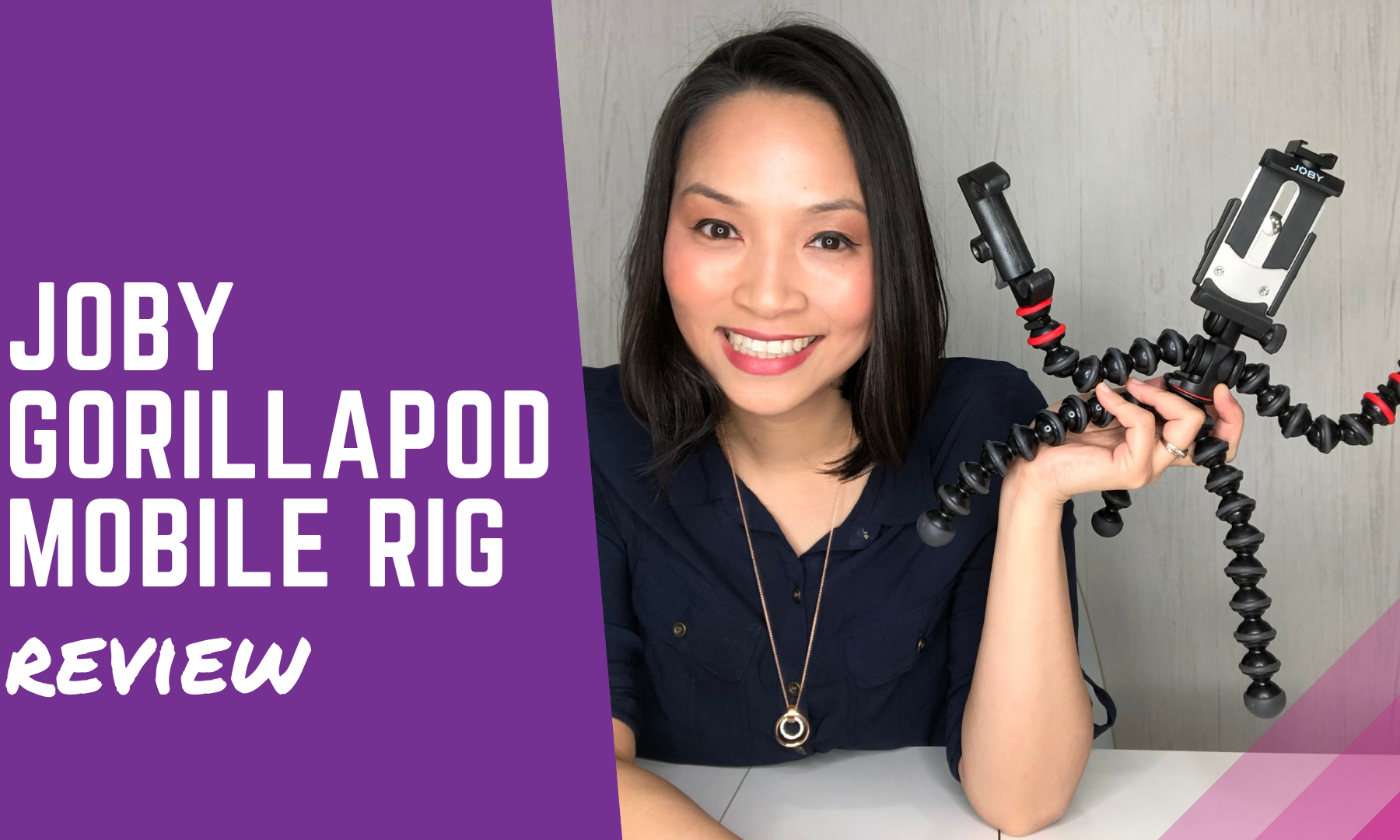 Best phone tripod Joby gorillapod mobile rig review