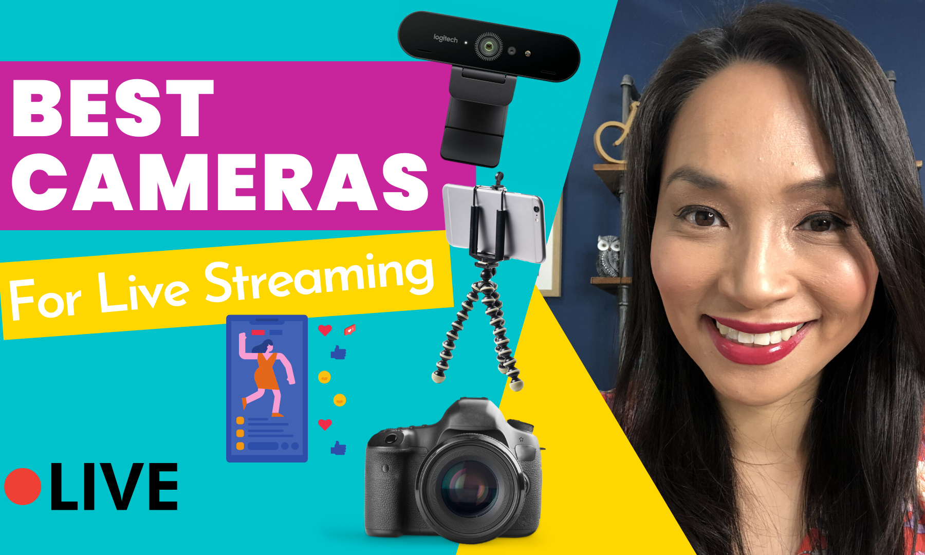 Best Cameras for Live Streaming