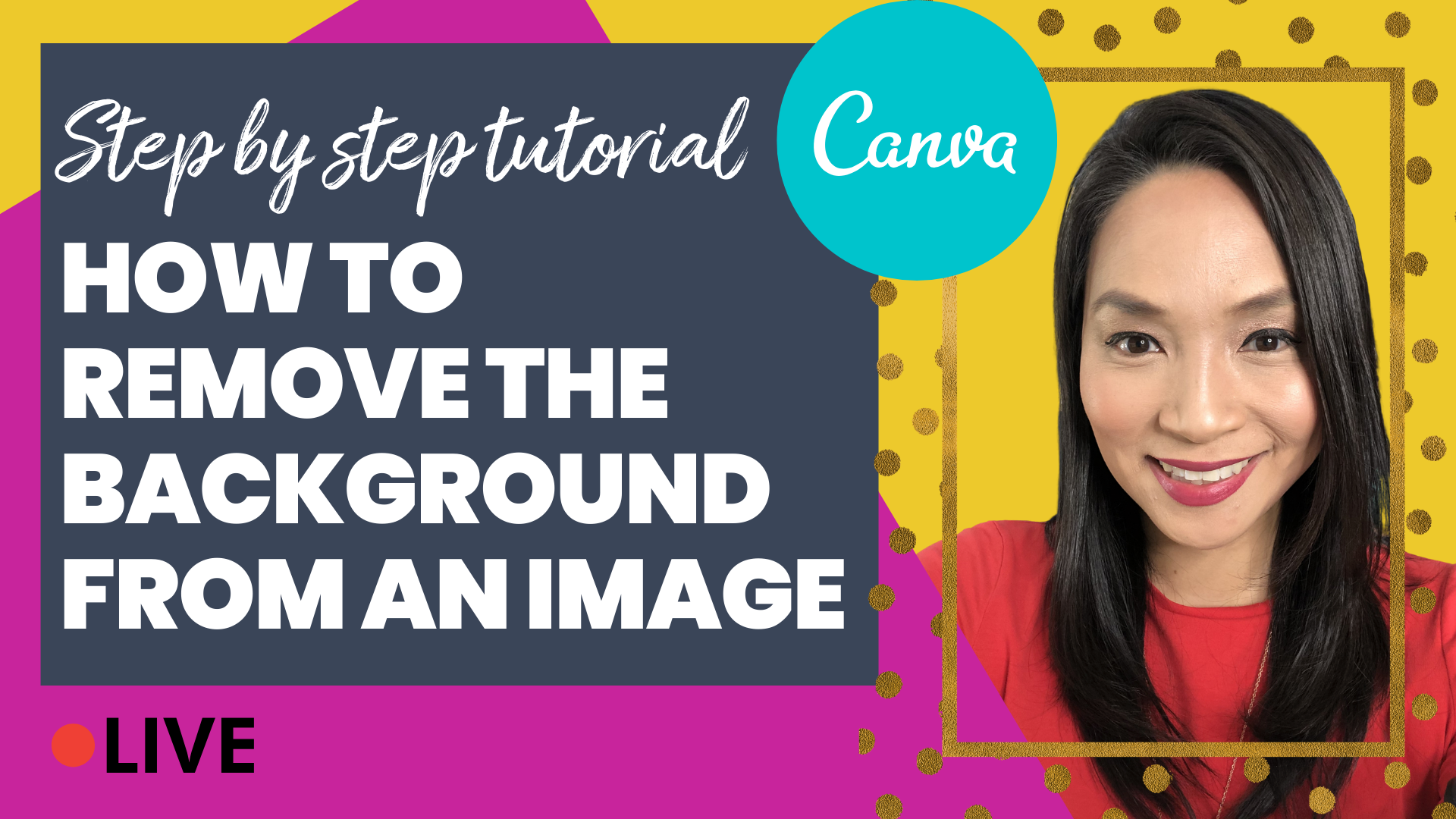 Canva Tutorial 2020: How to Remove The Background from An ...