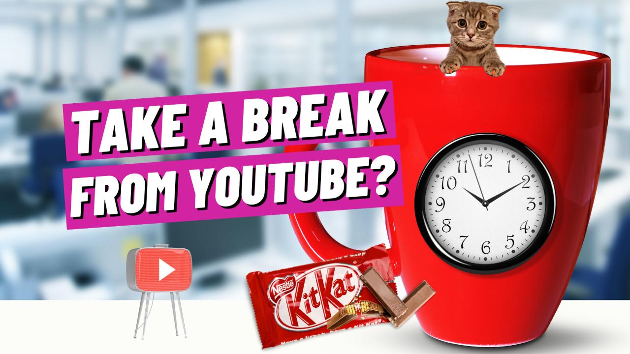 take a break from youtube?