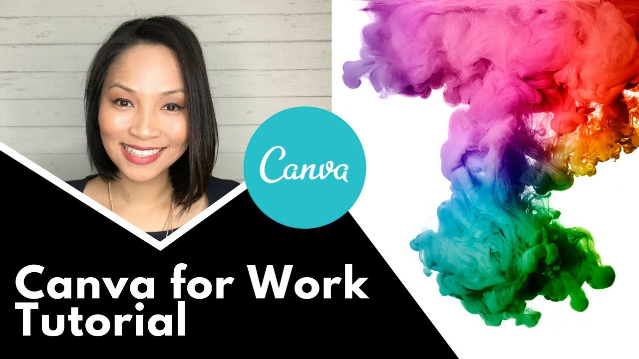 Canva for work  – Step by step tutorial on how to use Canva's paid version