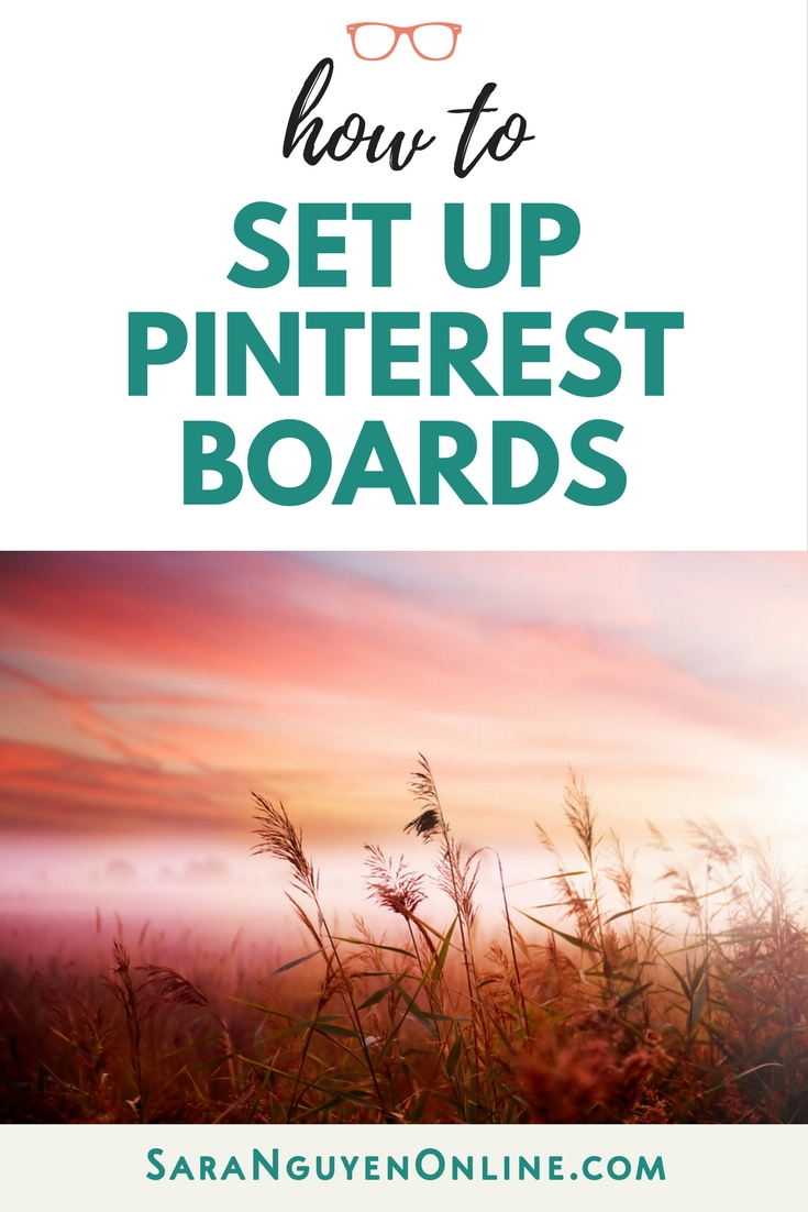 How To Set Up Pinterest Boards