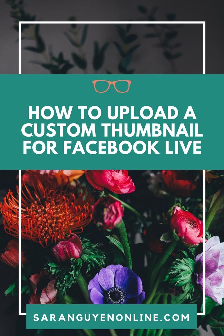 how to create a custom thumbnail for youtube