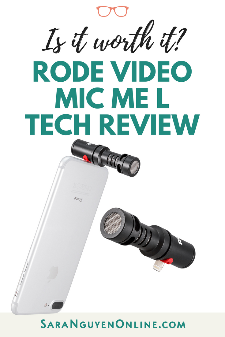 Rode VideoMic Me L Review | Best Microphone for iPhone