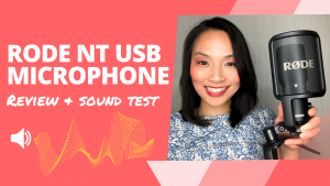 Rode NT USB Review and Sound Test