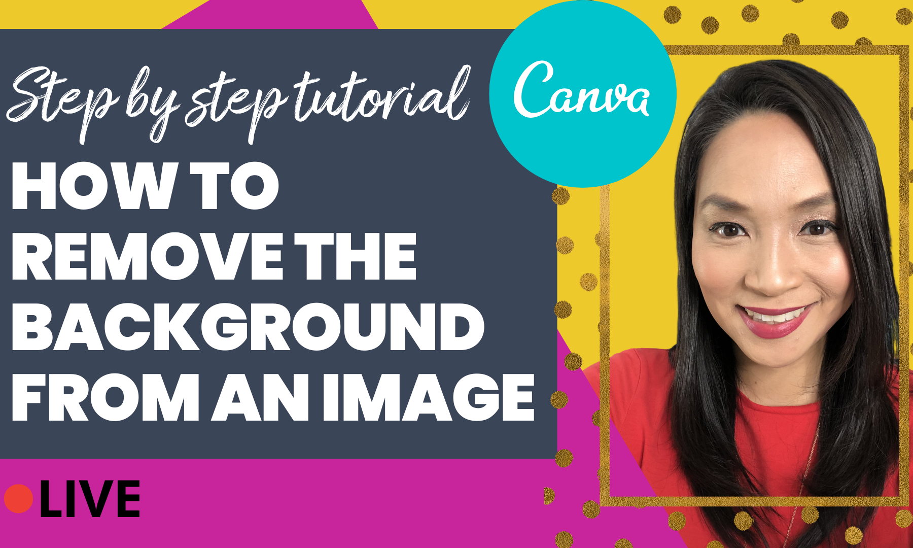 Remove Background Image on Canva